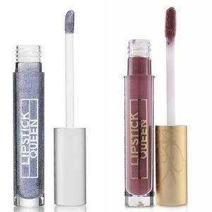 B2G1 NIB Lipstick Queen Mauve/Glitter Lip glosses